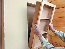 how to attach a pre fabricated medicine cabinet how tos