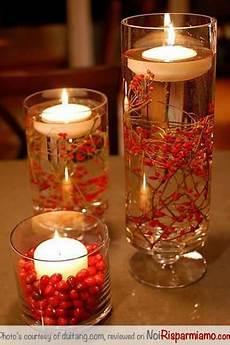 centrotavola di natale con candele centrotavola natale facile e veloce con candele e bacche