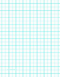 Graph Paper 8x11 Printable Graph Paper With Two Lines Per Inch And Heavy