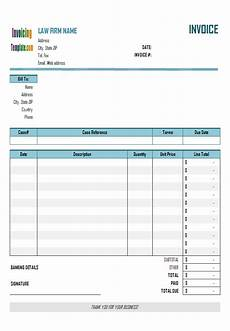 billing statement template