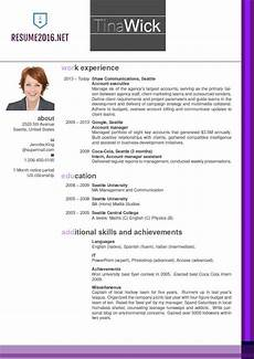 How To Update Your Resume Updated Resume Format 2016 Updated Structure