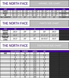 North Face Girls Size Chart Womens Mens The North Face Active Wear Black Jacket Hoodie
