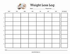 Weight Loss Logs Weight Loss Log Free Printable Allfreeprintable Com