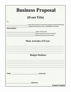 Template Proposal 30 Business Proposal Templates Amp Proposal Letter Samples