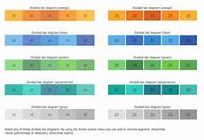 Examples Of Charts Graphs And Diagrams Basic Divided Bar Diagrams Solution Conceptdraw Com