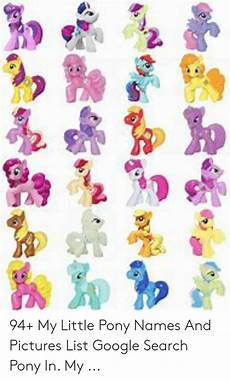 my pony names and pictures picturemeta
