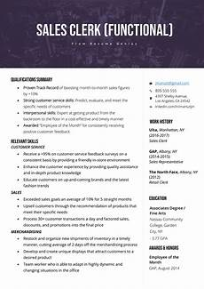 A Good Summary For A Resume The Functional Resume Template Examples Amp Writing Guide Rg