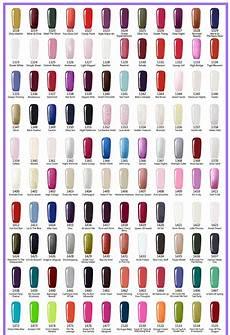 Color Gels Color Chart 12 Bottles Set Gelartist Brand 237colors Series Soak Off