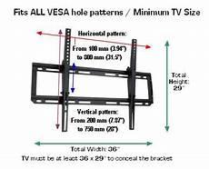Wall Mount Tv Height Chart D9450 Heavy Duty Tiltable Tv Wall Mount 42 Quot 65 Quot Tvs