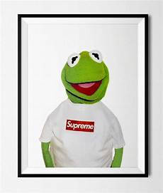 Supreme Pictures by Supreme Kermit Poster Print Etsy