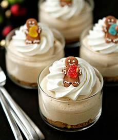 gingerbread oreo no bake mini cheesecakes mini