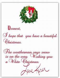 Merry Christmas Letter Sample A Scrapbook Of Inspiration Christmas Advent Calendar Gift 14