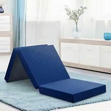 memory foam mattress tri folding single bed 4 inches