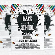 Back To School Flyer Templates Back To School Party Vol 3 Premium Flyer Template