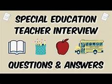 Interview Questions For Special Education Teachers Special Education Teacher Interview Questions Amp Answers