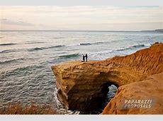 Sean and Rachel's Sunset Cliffs Paparazzi Proposal, San