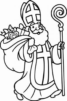 Ausmalbilder Bischof Nikolaus Big Image Nikolaus Zum Ausmalen Und Ausdrucken Clipart