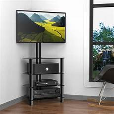 tv stand with mount black entertainment center storage