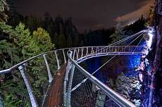 Capilano Suspension Bridge Canyon Lights Tickets Canyon Lights Capilano Suspension Bridge Photo Essay