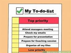List Of Organisational Skills 4 Ways To Improve Organizational Skills Wikihow
