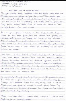 My First Day In School Essay 016 Essay Example First Day Of School Thatsnotus