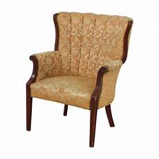accent chair yellow 87 antique indigo yellow wingback accent chair chairs