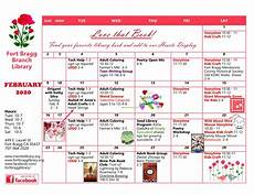February 2020 Calendar Of Events Fort Bragg Library