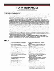 Nursing Administrator Resume Nrc Carlton Manor Licensed Nursing Home Administrator