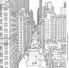 New York Malvorlagen Malvorlagen New York Skyline