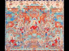 zhang daqian s copies of dunhuang frescoes