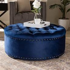 baxton studio iglehart modern and contemporary royal blue