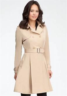 dressy coats for lyst bebe paulette trench coat dress in