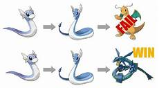 Pokemon Dragonair Evolution Chart Dratini Evolution