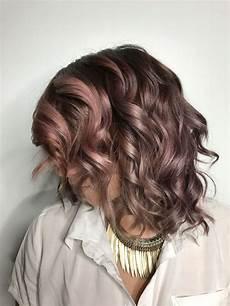 Light Brown Mauve Hair Chocolate Mauve Hair Color Trend Popsugar Beauty
