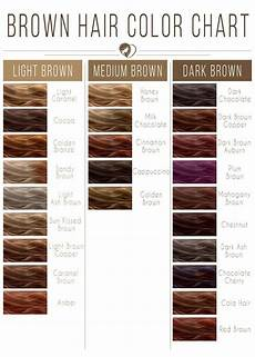 Different Shades Of Brown Hair Colour Chart Hair Color 2017 2018 Light Brown Hair Color Chart