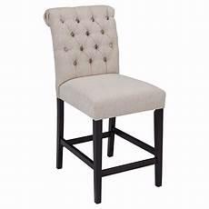 linen upholstered bar stool by furniture