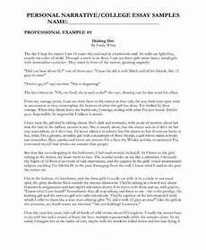Personal Narrative Essay Sample 8 Narrative Essay Templates Pdf Free Amp Premium Templates