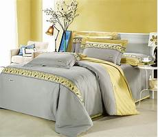 why yellow and gray bedroom is recommended to