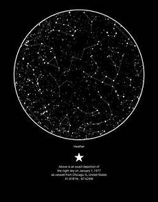 Star Chart For Date Skymap Create A Custom Sky Map Of
