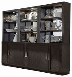 curio hutch with shelf and drawer solid wood construction
