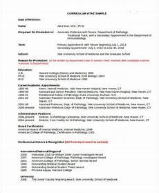 Academic Cv Format Download Cv Template Academia Curriculum Vitae Template Cv