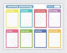 Best Monthly Planner Simple Weekly Planner Free Printable Weekly Planner