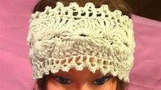 diy crochet headband tutorial pattern