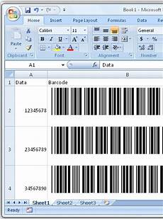 Excel Barcode Font Technoriver Barcode Font With Excel