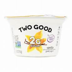 Light And Fit Yogurt Two Good Light Amp Fit 174 Two Good Vanilla Greek Yogurt 5 3 Oz Cup