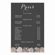 Pricelist Template Beauty Quite Like The Grey Hair And Beauty Salon Nail Salon