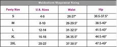 Shapewear Size Chart Nwt Maidenform Flexees Comfort Devotion Shaping Slimming