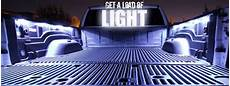 aura led truck bed pod lighting kit multi color with