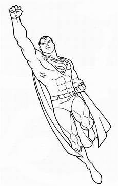 superman to color copy and paste into a word doc