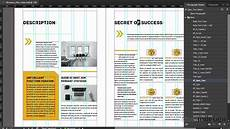 Layout Of A Business Business Plan Indesign Template Youtube